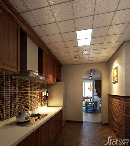 品质的保证 11款友邦集成吊顶厨房效果图资讯生活